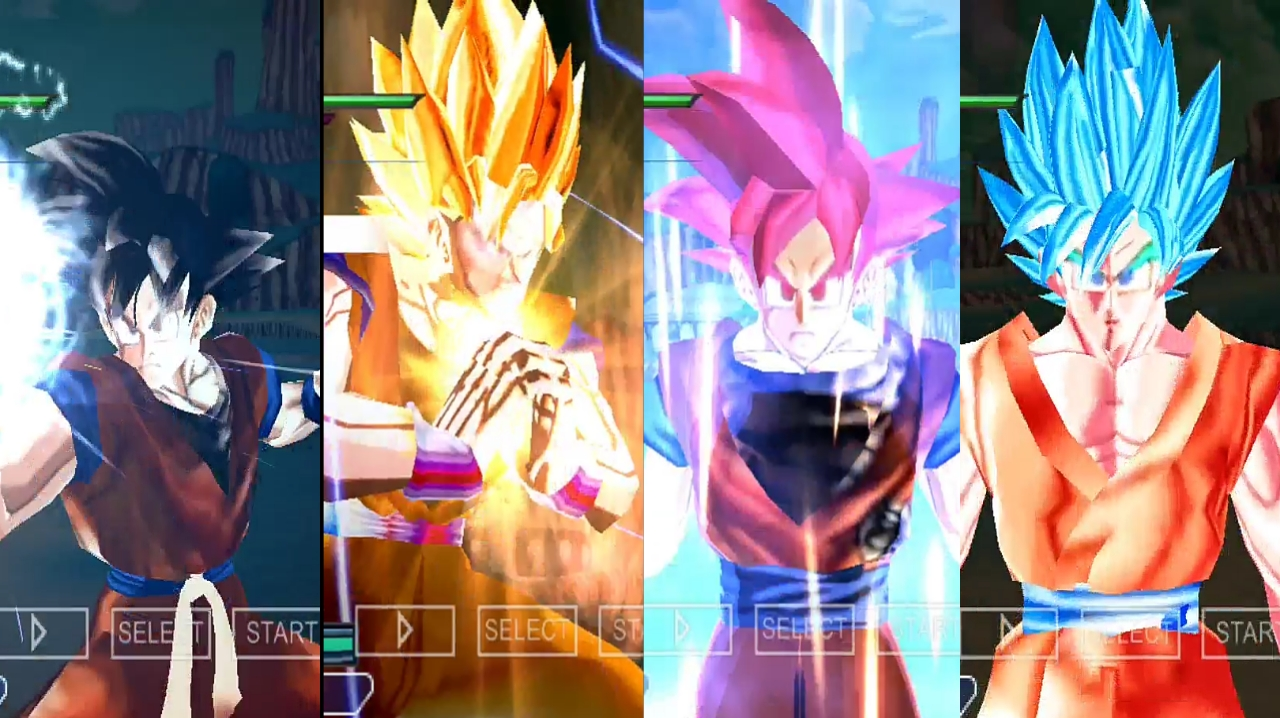 Dragon Ball Xenoverse 2 Goku all forms