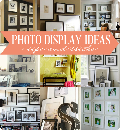 Displaying Photography: Photo Display Ideas + Tips And Tricks