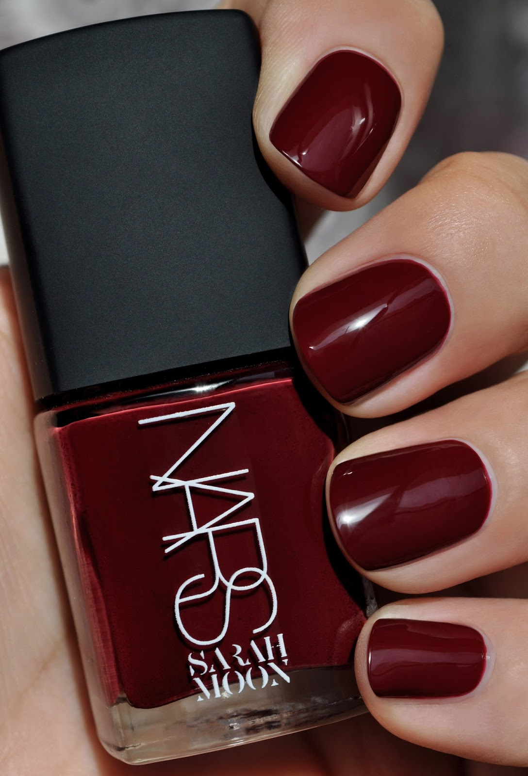 So Lonely in Gorgeous: The Woman In Black...NARS Sarah Moon Nail Polish
