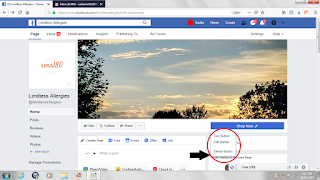 call to action button on facebook page