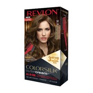 Thuốc nhuộm tóc Revlon ColorSilk Butter Cream Light Natural Brown xách tay Mỹ