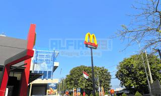 Outlet McDonald's untuk menukarkan voucher