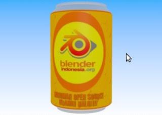 Ebook Blender Tutorial Membuat IKLAN KALENG JOGET