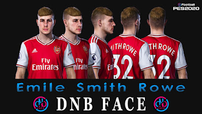 PES 2020 Faces Emile Smith Rowe by DNB