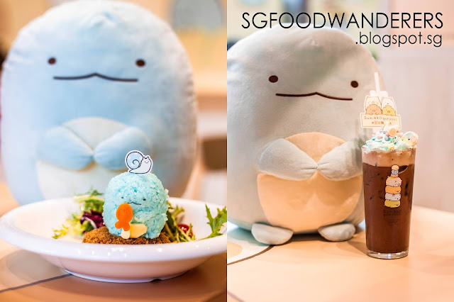 Pop-up Cafe: Sumikkogurashi X Kumoya at Orchard Central Singapore