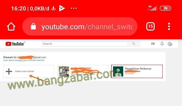 Ubah Nama dan Icon Channel Youtube Beda Dengan Akun Google