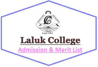 Laluk College Merit List