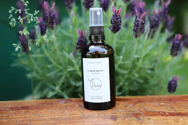 Organická kozmetika levandulová voda