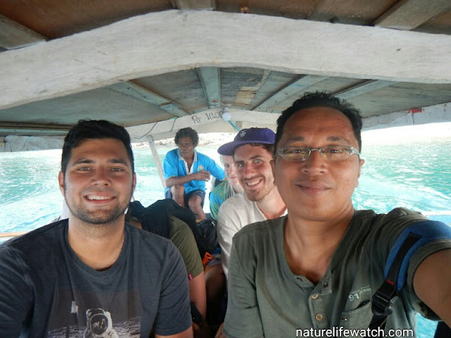Snorkeling trip with 4 Dutch tourists