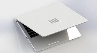 Tampilan Laptop Xiaomi Berwarna Putih Silm Akan Di Luncurkan Tahun Ini