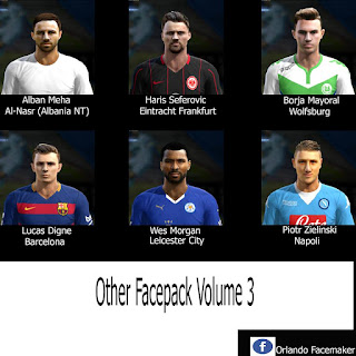 PES 2013 Other Facepack Volume 3 By Orlando