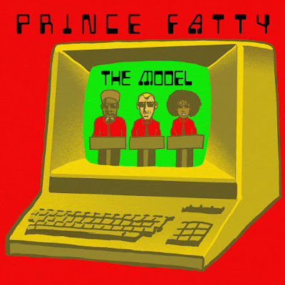 The cover features a cartoon illustration of an old computer terminal with depictions of Prince Fatty, Shniece, and Horseman on the screen.