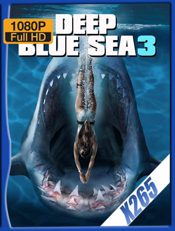 Deep Blue Sea 3 (2020) x265 HD [1080p] Latino [GoogleDrive] SilvestreHD