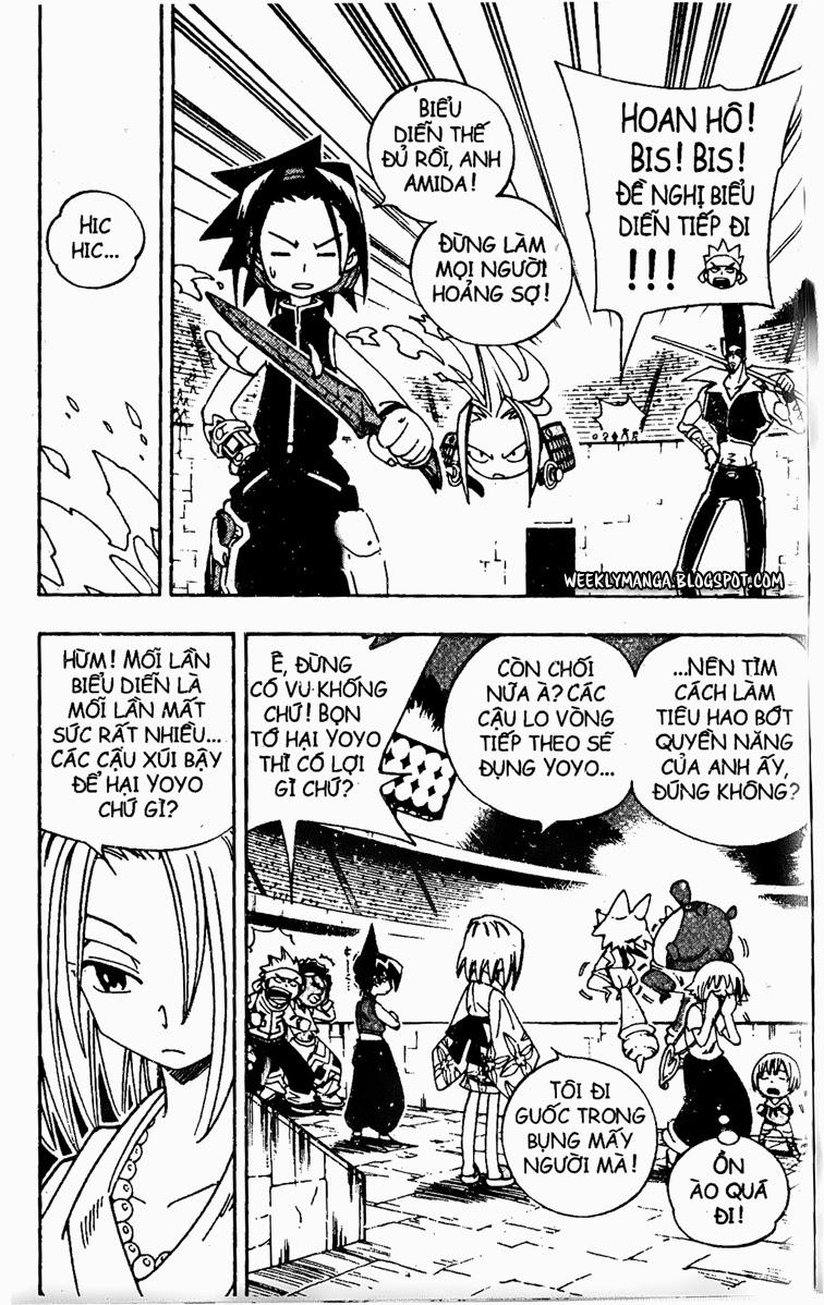 Shaman King [Vua pháp thuật] chap 129 trang 8