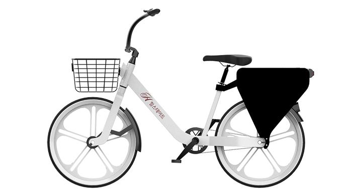 현대건설, 아파트 주민들을 위한 공유형 전기자전거 'H 바이크(H Bike)' 개발