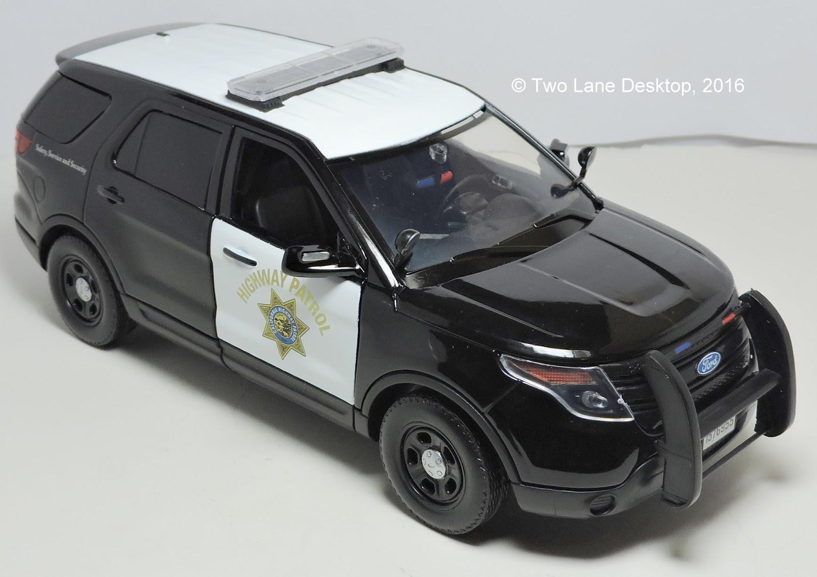 Two Lane Desktop  Motormax 1 24 2015 Ford Police