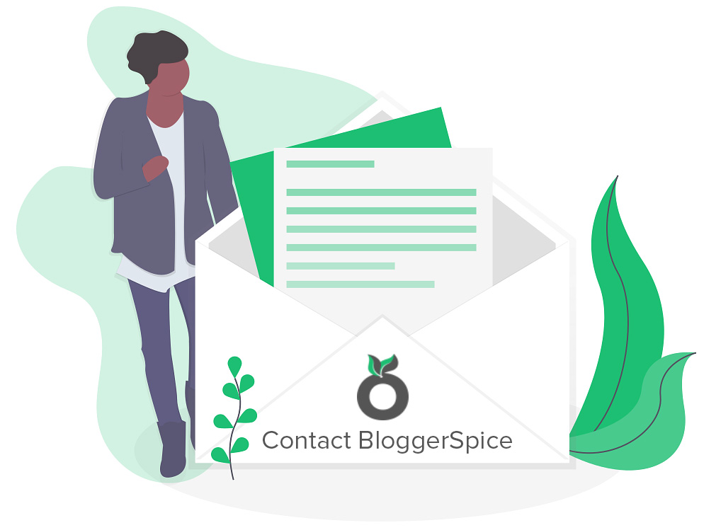 Contact - The Blogger Spice