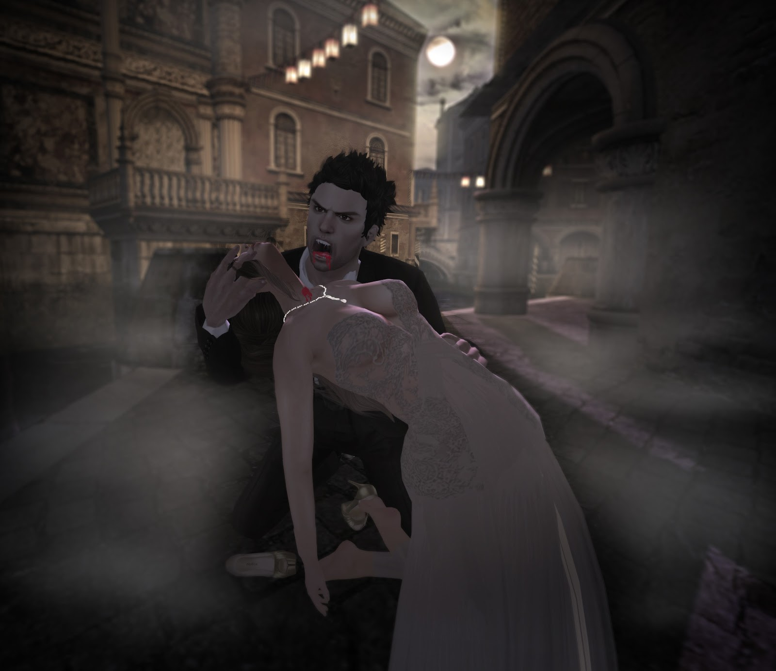 vampires biting people - photo #1