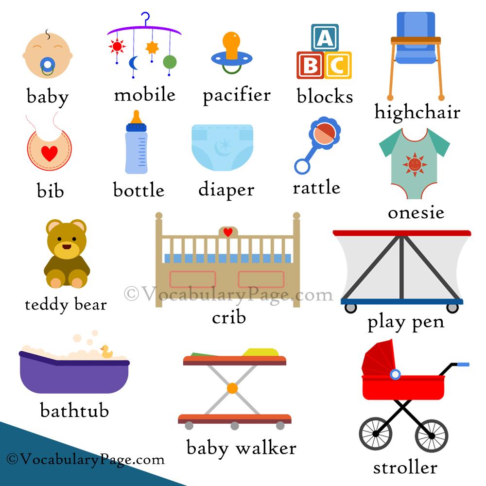 VocabularyPage.com: Baby Vocabulary
