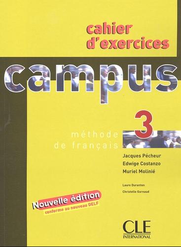 كتاب تمارين قواعد اللغة الفرنسية Cahier d'exercices 3 Campus méthode de français