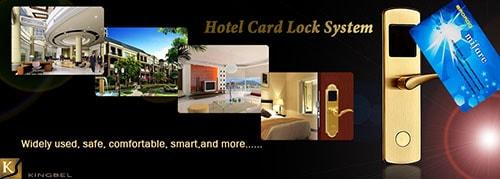 Khóa thẻ từ khách sạn