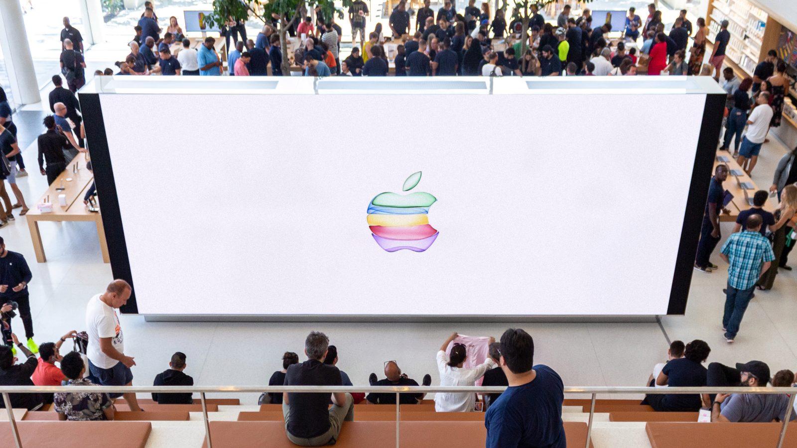 Apple 直營店轉播發表會