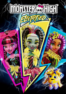 Monster High Electrified 2017 DVDR R1 NTSC Latino