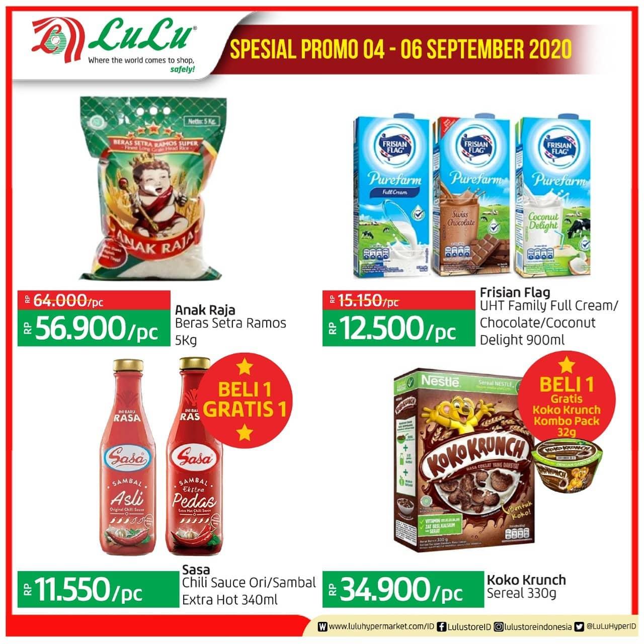 Katalog Promo Lulu Jsm Weekend 4 - 6 September 2020