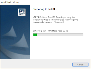 Cara Mudah dan Cepat Install e-SPT PPh Pasal 22