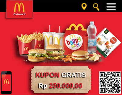 Cara Membuat Website Scam Mc Donald