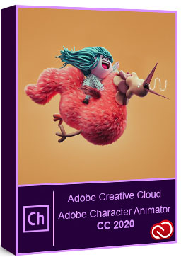 Adobe Character Animator 2020 v3.3.0.109 poster box cover
