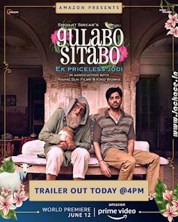 Gulabo Sitabo First Look Poster 2