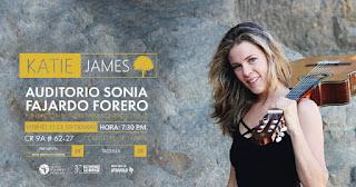 Concierto de KATIE JAMES en Bogotá POS2