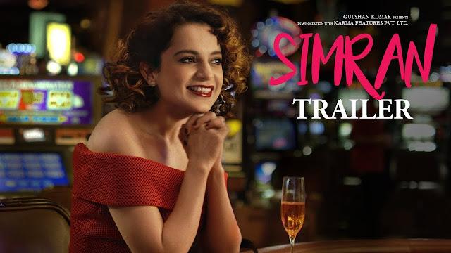 Simran Movie Official Trailer