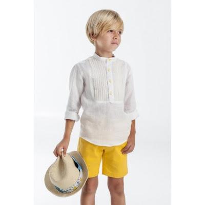 pantalón corto niño José Varón , ven a conocer la nueva colección de primavera verano de pantalones para niños