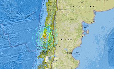 Ισχυρός σεισμός στην Χιλή, 7,7 Ρίχτερ...