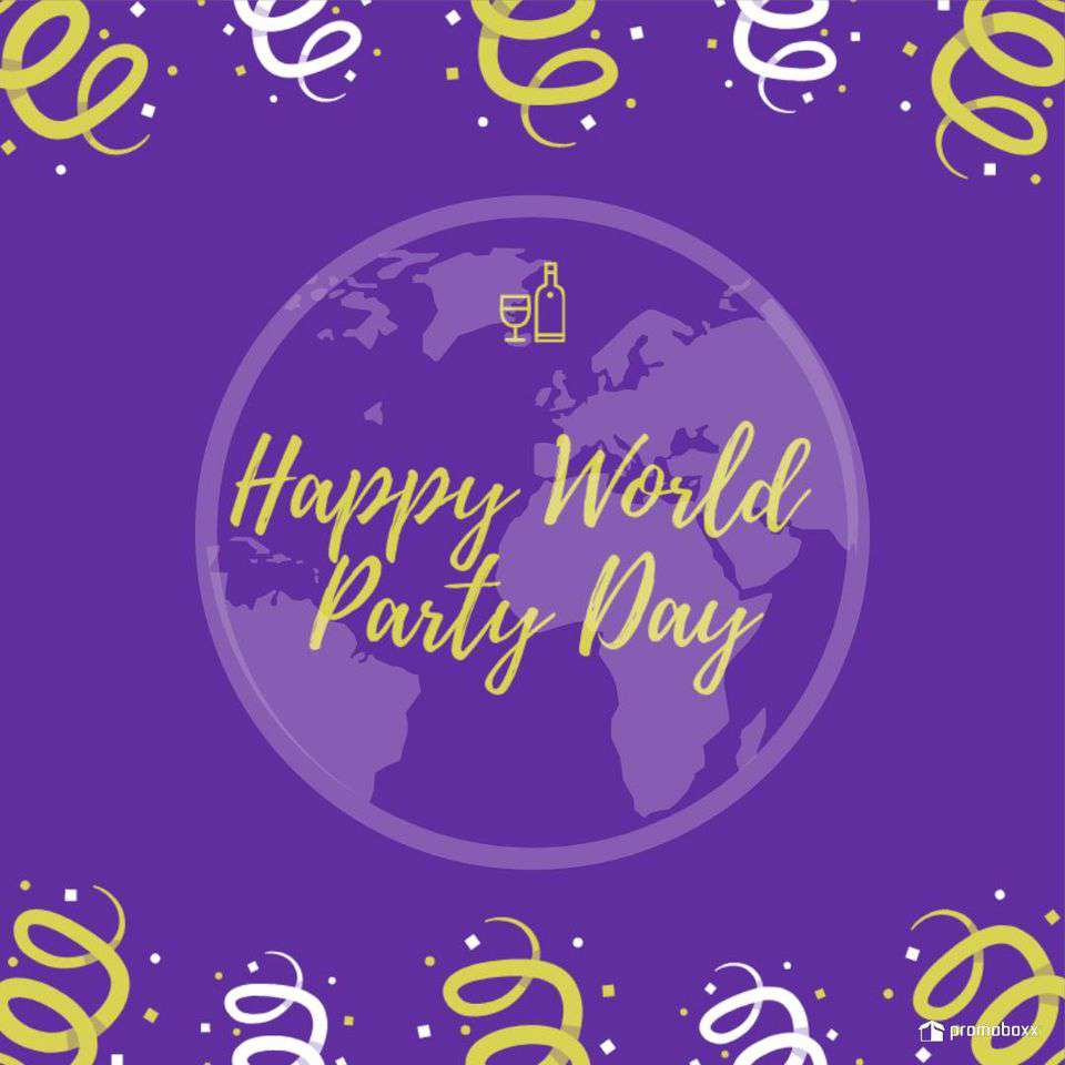 World Party Day Wishes for Whatsapp