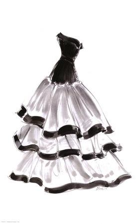 Dibujos de vestidos para imprimir imagenes y dibujos - Kleider zeichnen ...