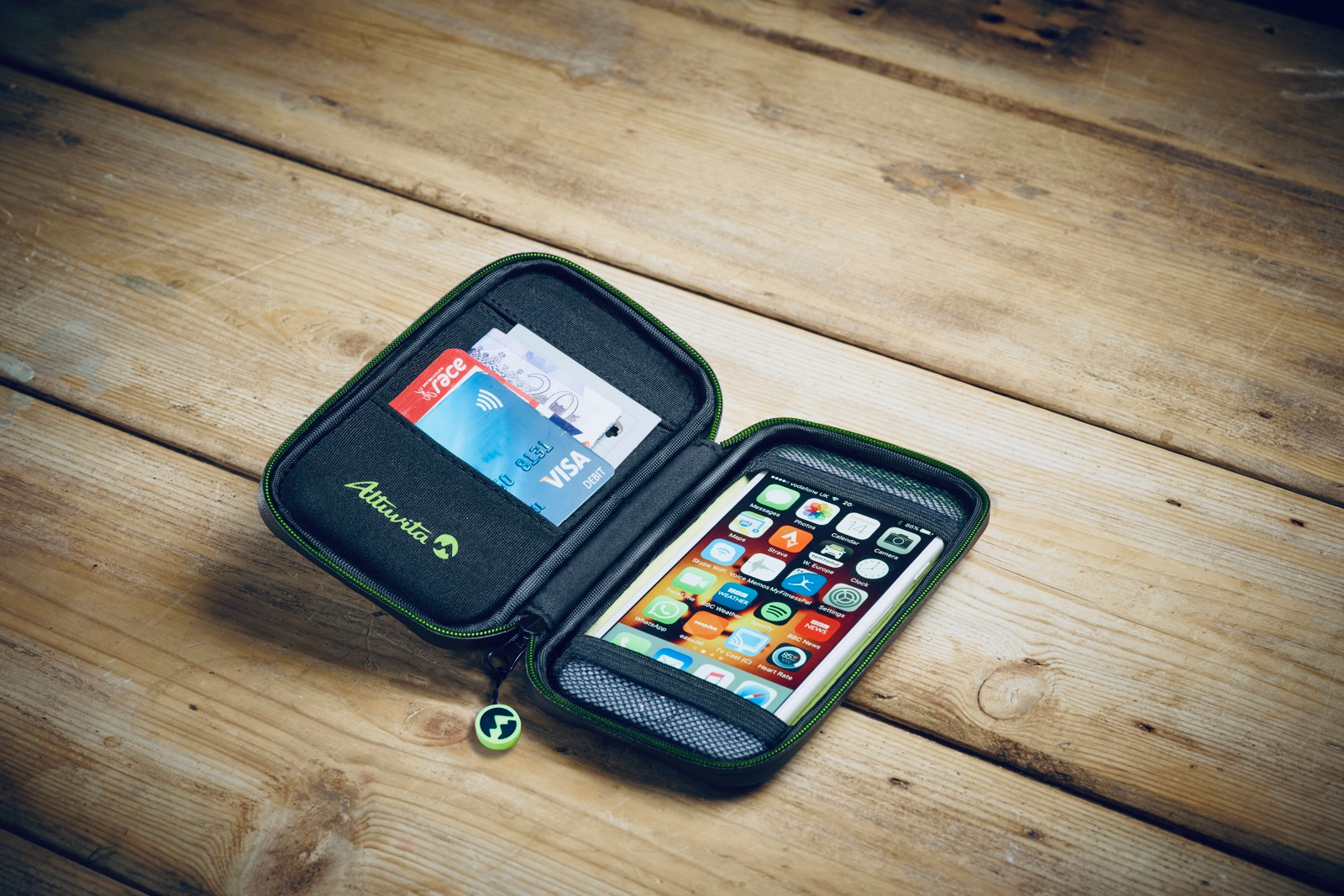 Altuvita Cycling Phone Wallet Review | Tim Wiggins