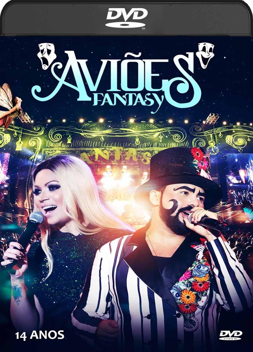 Aviões Fantasy (2016) DVD-R