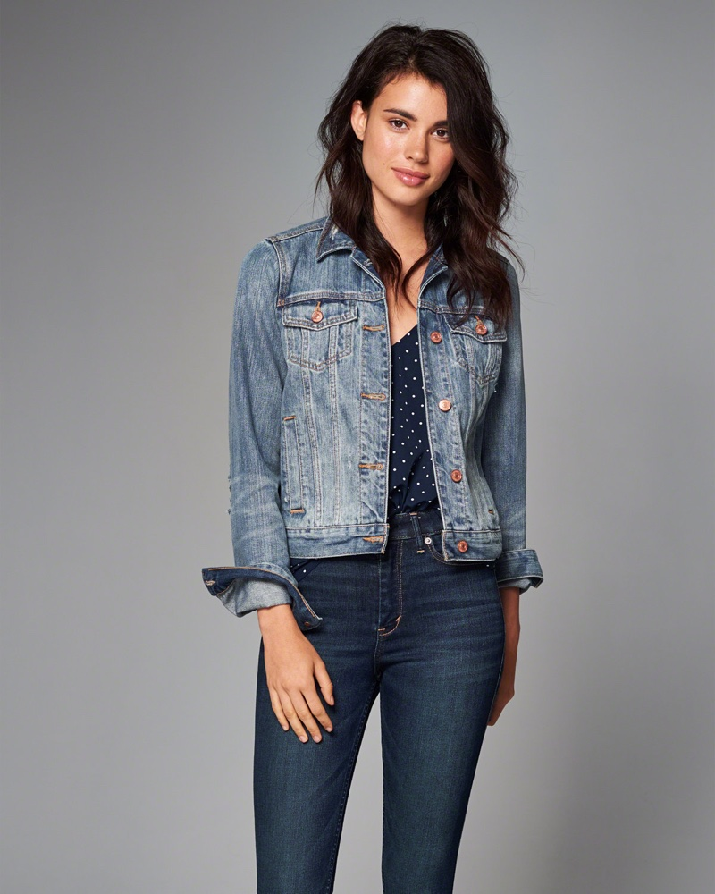 Jean Jacket For Womens Abercrombie
