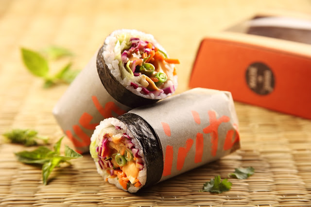 Shiro Sushirito will be available in six delectable flavors that can be easily ordered via Swiggy or Entree
