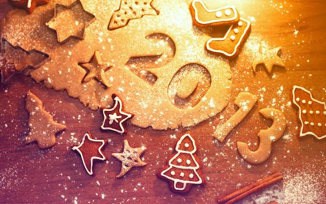 Nieuwjaar 2013 achtergrond