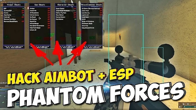 Phantom Forces GUI