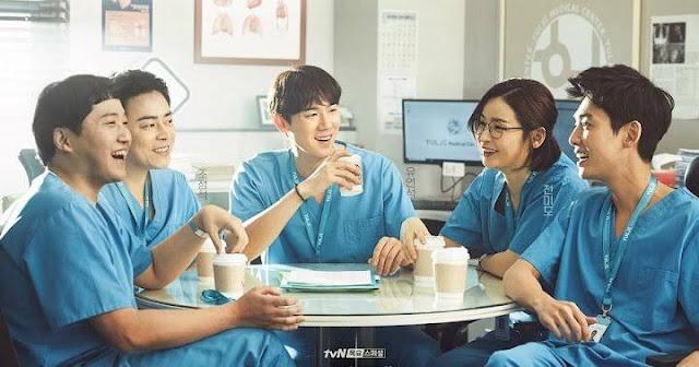 Drama Korea Juli 2021 Hospital Playlist