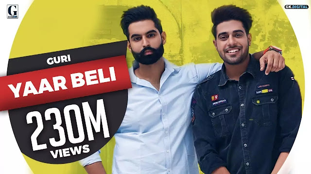 Yaar Beli lyrics song - Punjabi Songs - Guri Lyrics