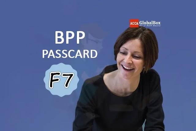 F7 - FR | BPP Passcard