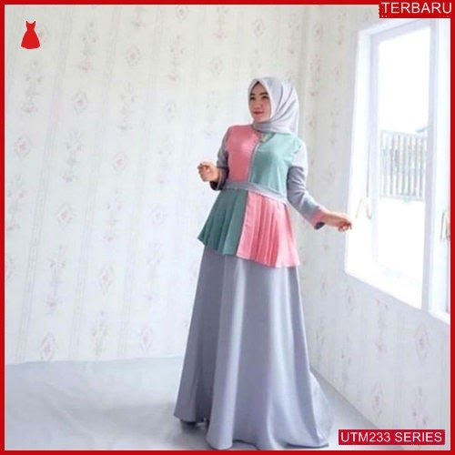 UTM233R47 Baju Rainbow Muslim Dress UTM233R47 0E9 | Terbaru BMGShop