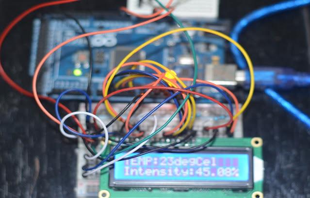 LM-35 Temperature Sensor and Arduino