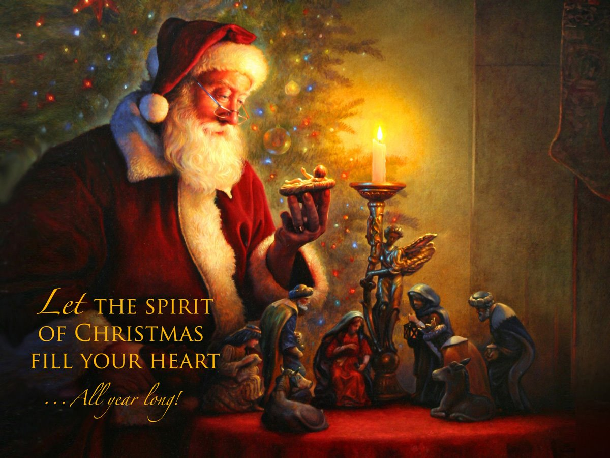 Living in the Peace Zone: Merry Christmas Eve!